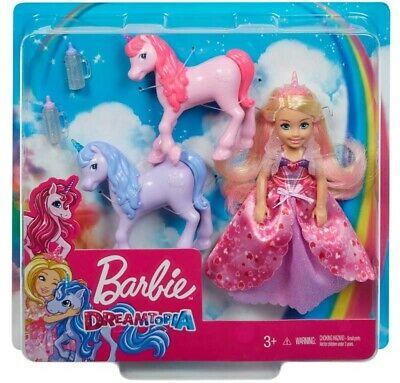 Barbie GJK17 Chelsea Princess Doll with Unicorns