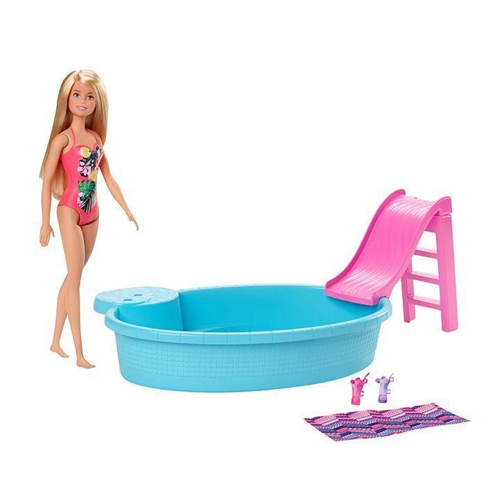 BARBIE Barbie Pool W/Doll-GHL91