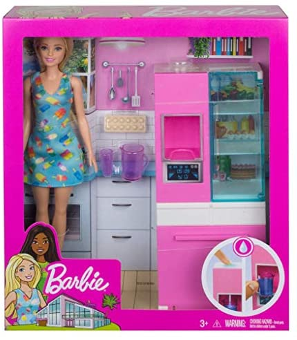 Barbie GHL84 Doll and Furniture Set