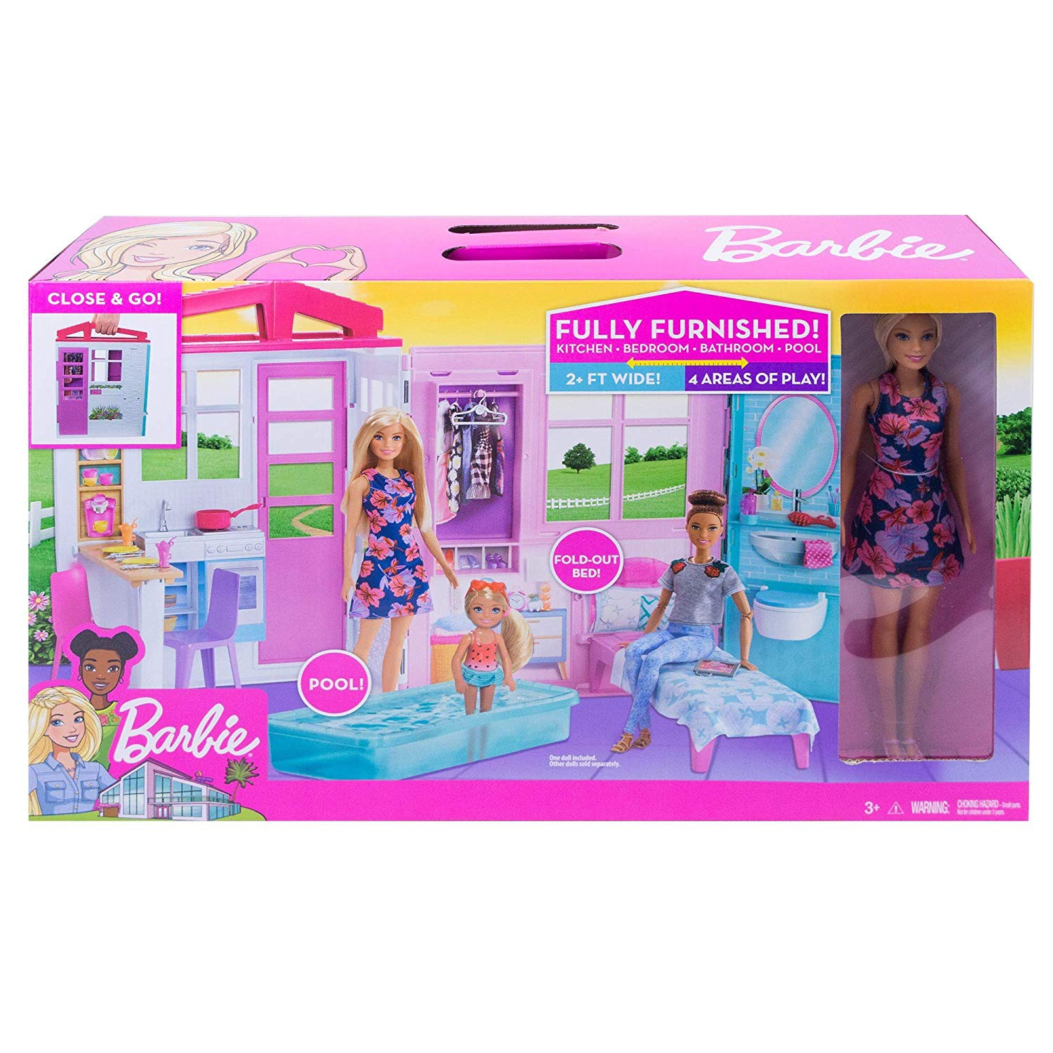 Barbie Fxg55 House And Doll