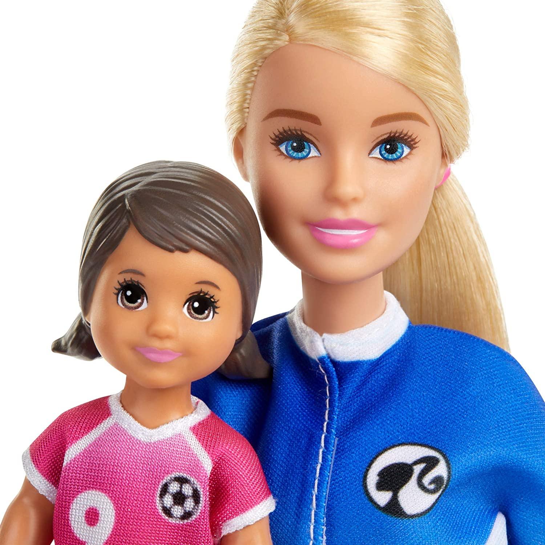 Barbie GLM47 Soccer Coach Playset