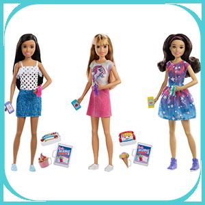 Barbie FHY89(FXG93)Skipper Babysitters Doll