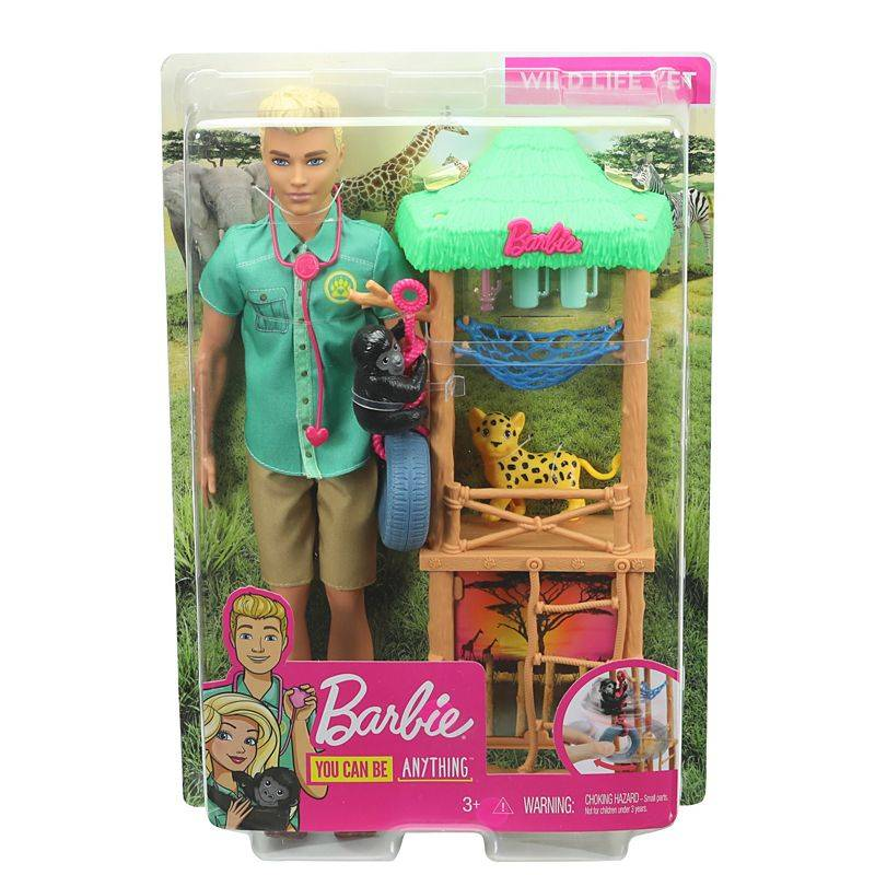 Barbie GJM32(GHM33) Ken Wildlife Vet Playset