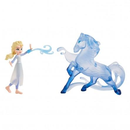 Disney Frozen E5504(E6857) Elsa Small Doll and the Nokk Figure