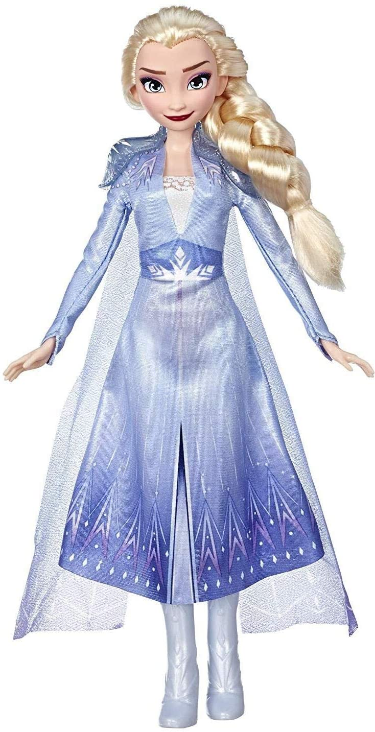 Disney E6709 Frozen Elsa Fashion Doll With Long Blonde Hair and Blue Outfit Inspired by Frozen 2