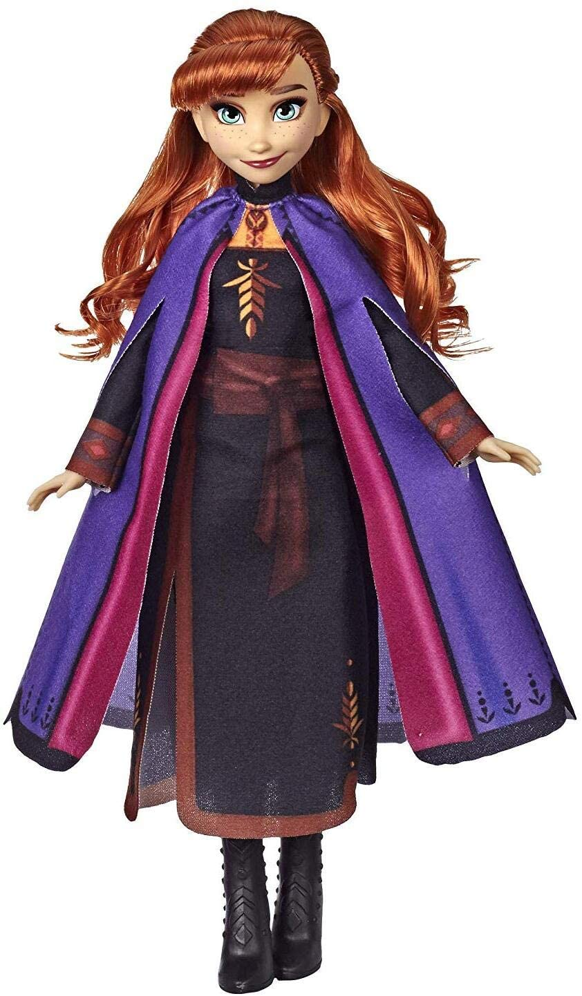 Disney Frozen Anna Fashion Doll With Long Red Hair and Outfit Inspired by Frozen 2