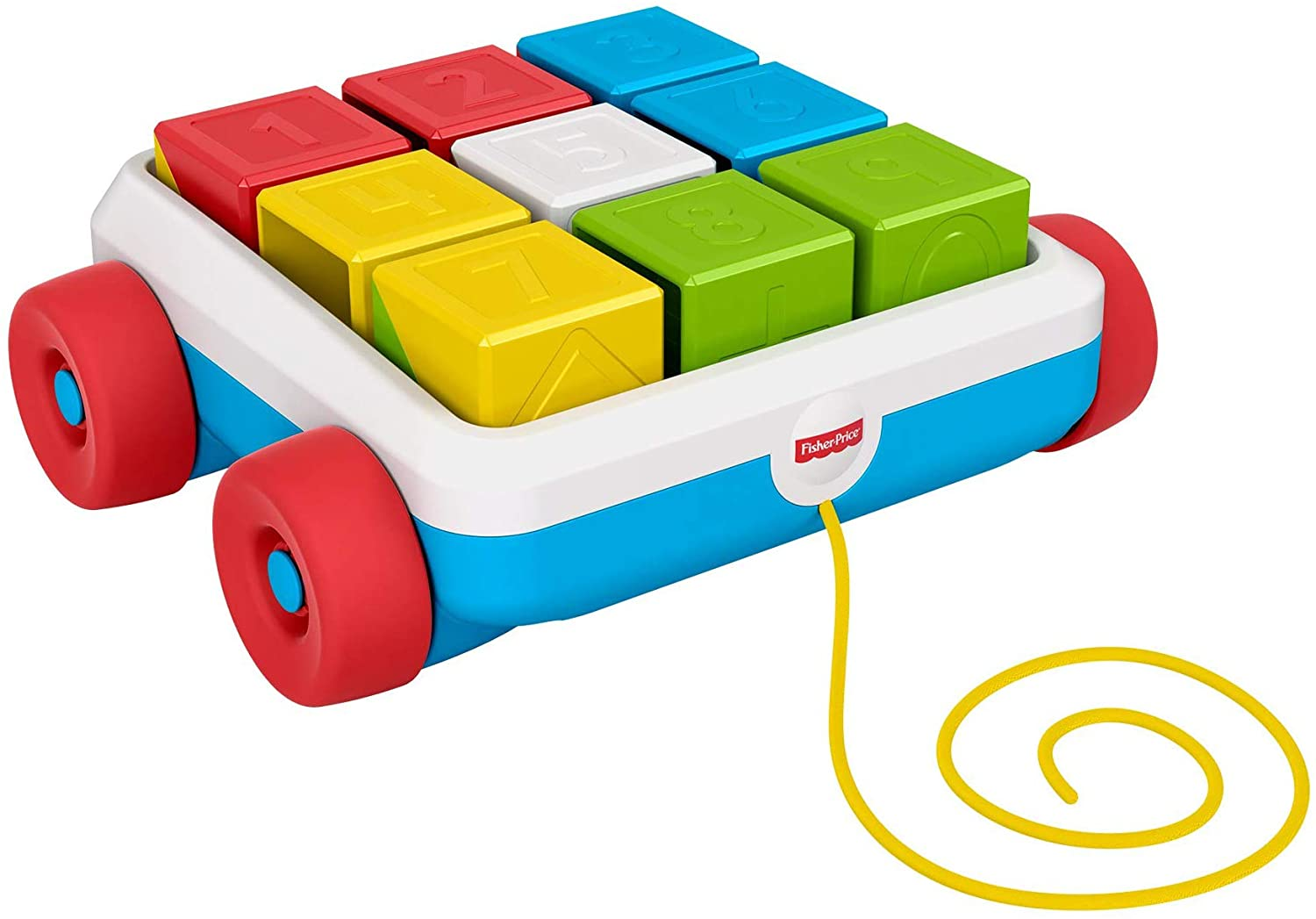 Fisher Price GJW10 Pull-Along Activity Blocks