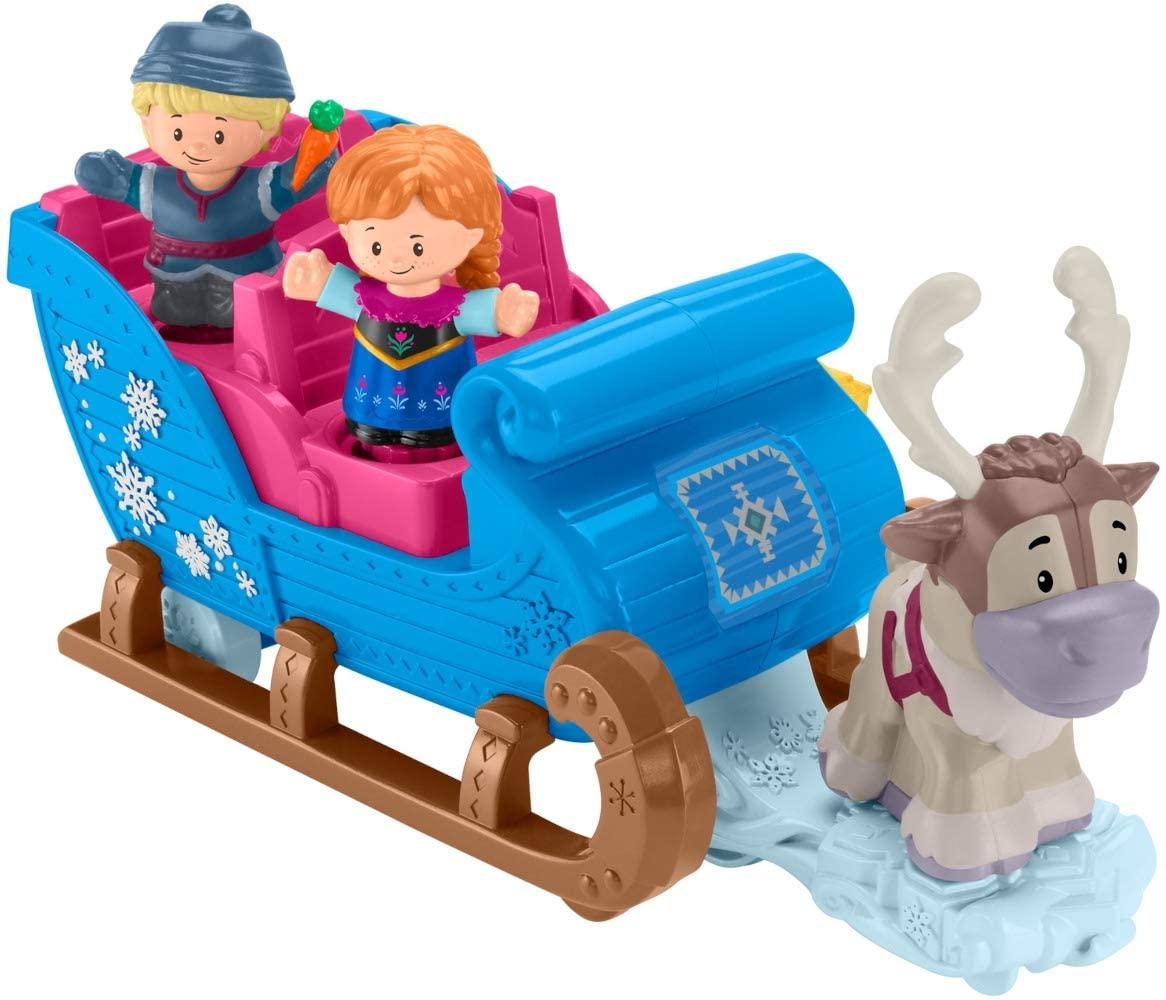 Fisher Price GGV30 LP Disney Frozen Kristoff's Sleigh Car