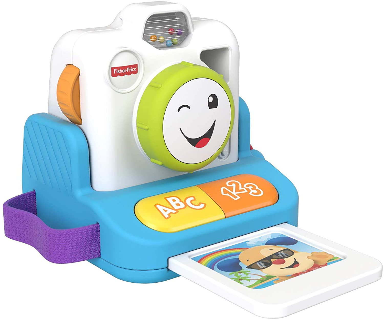 Fisher-Price GJW19 L&L Click & Learn Instant Camera
