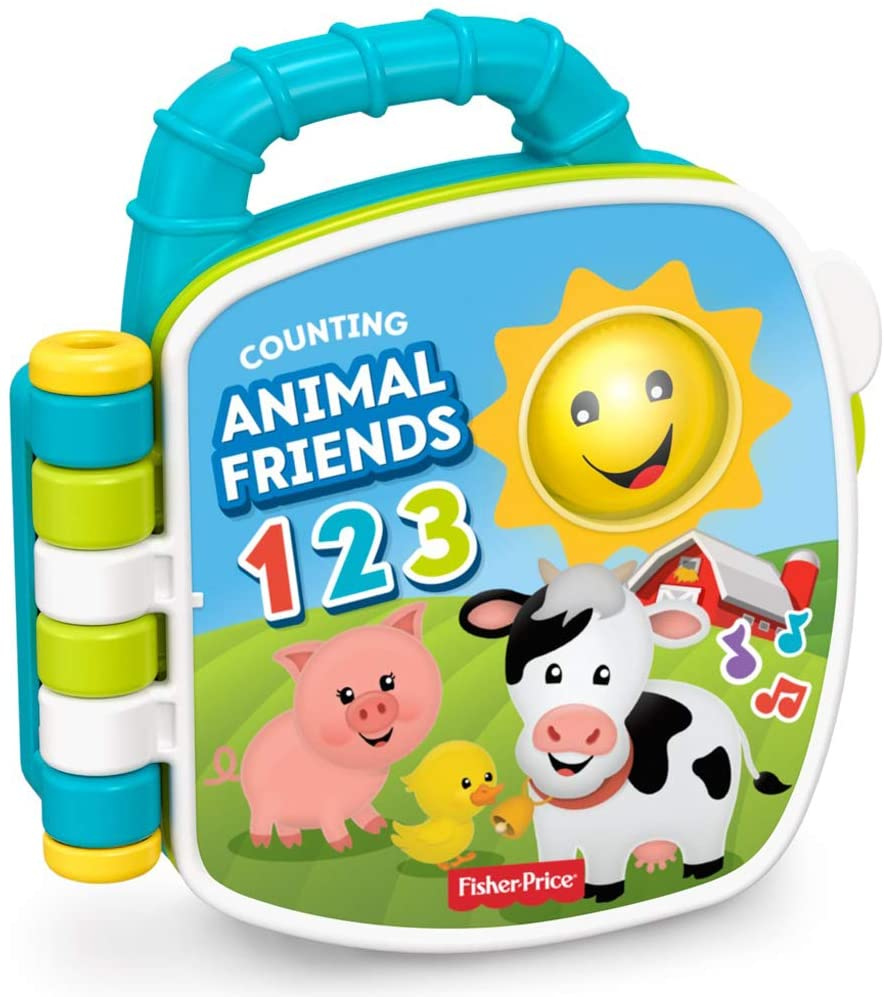 Fisher Price FYK57 Laugh & Learn Counting Animal Friends Musical Book