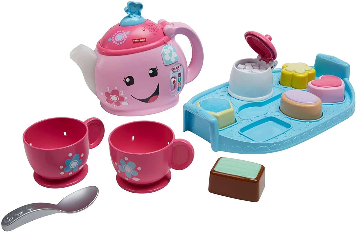 Fisher Price DYM76 Laugh & Learn Sweet Manners Tea Set