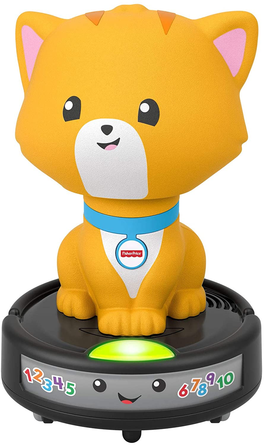Fisher Price GJW35 Laugh & Learn Crawl-after Cat on a Vac
