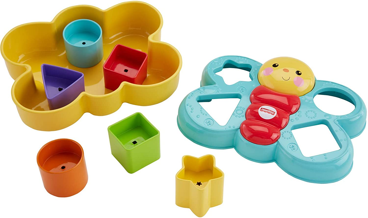 Fisher Price CDC22 Butterfly Shape Sorter