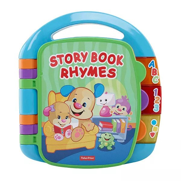 Fisher Price CDH24 Laugh & Learn Storybook Rhymes