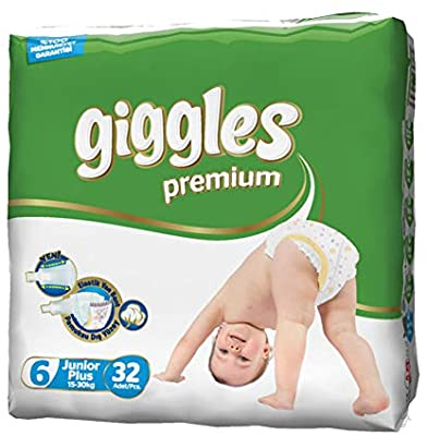 Giggles Eco Pack 15-30 Kg Extra Large 32 Pcs