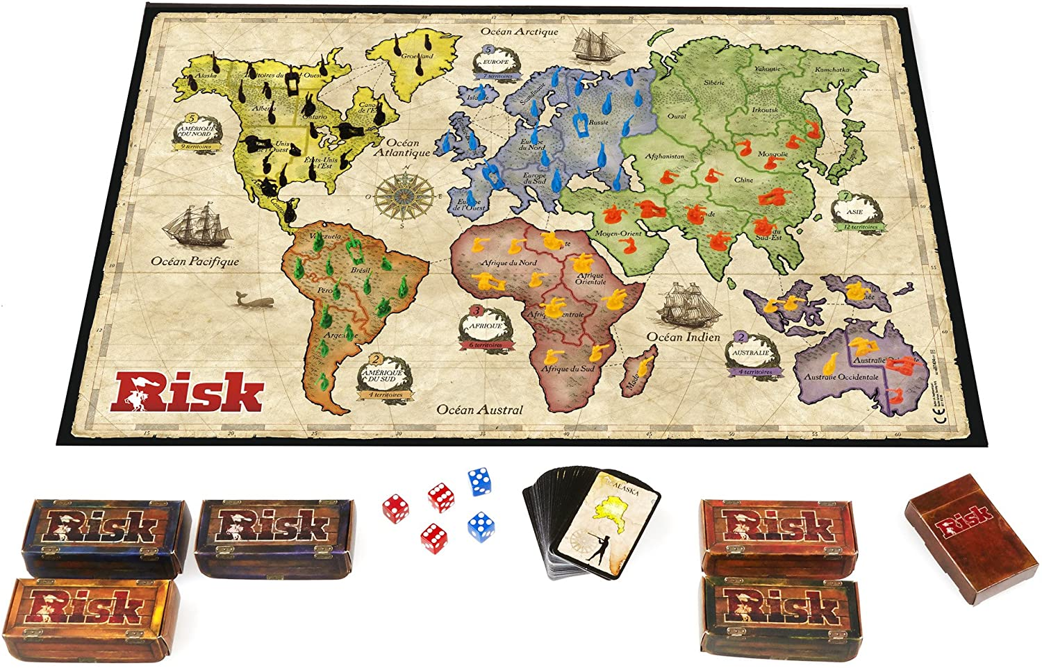 Hasbro B7404 Risk Game
