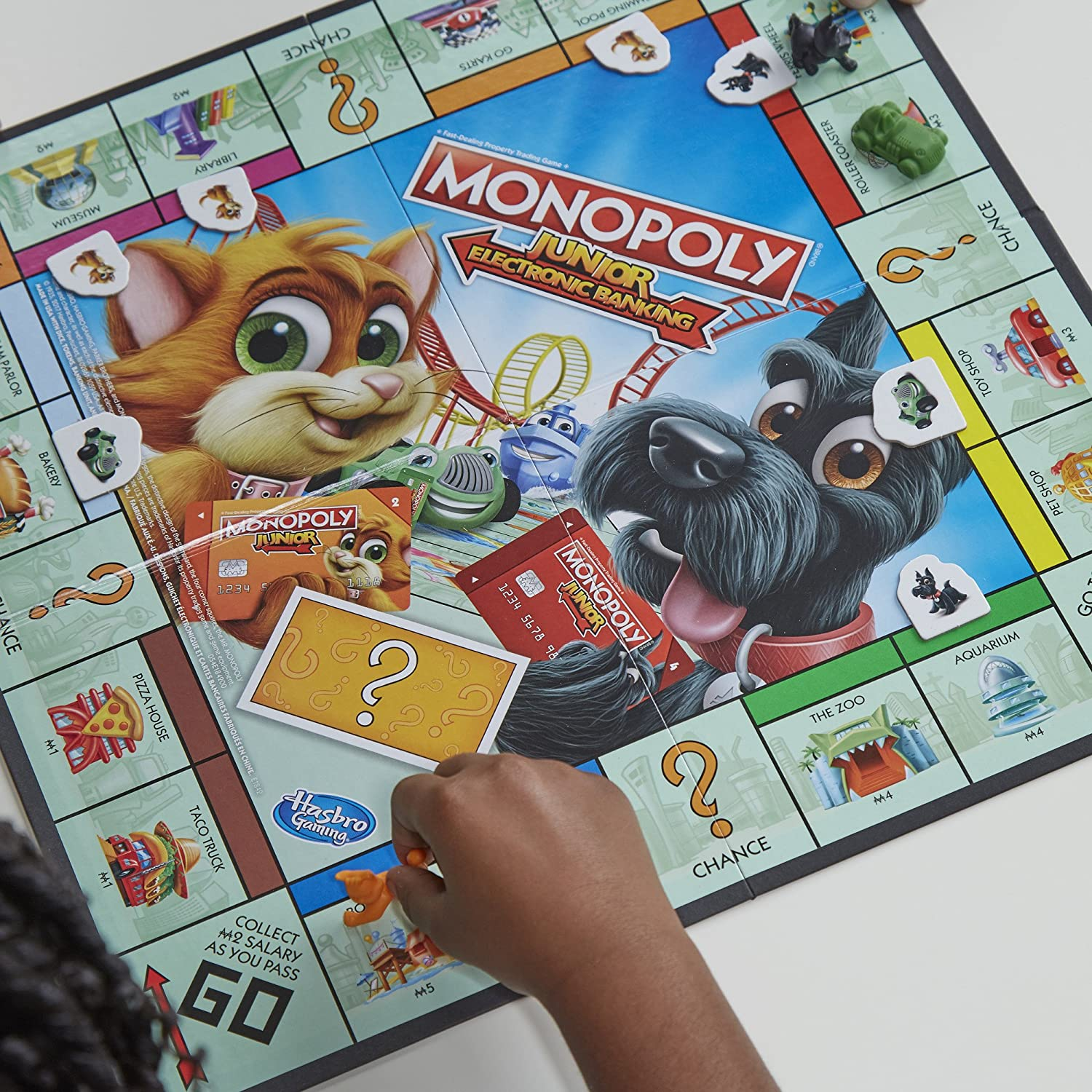 Hasbro E1842 Gaming Junior Monopoly Electronic Banking Game