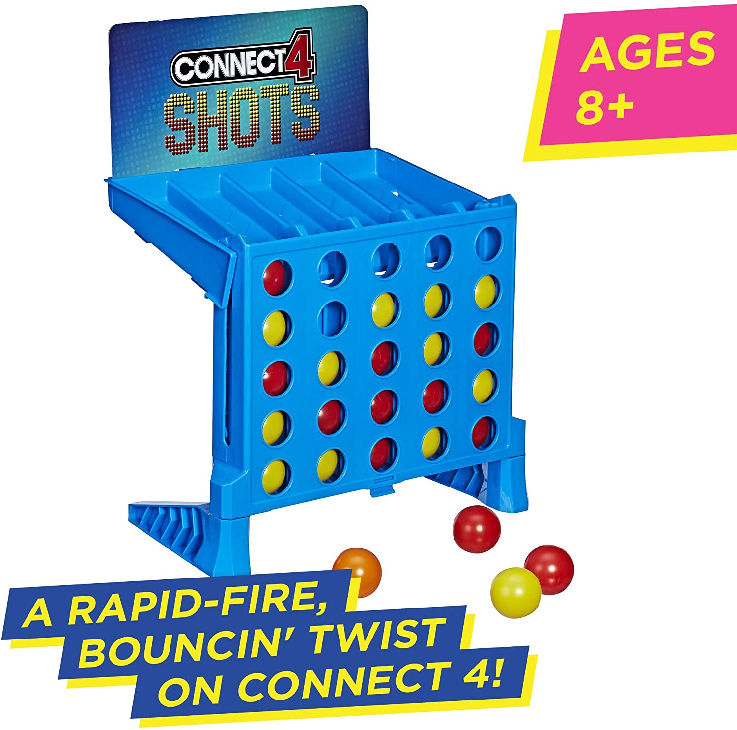 Hasbro E3578 Connect 4 Shots Game