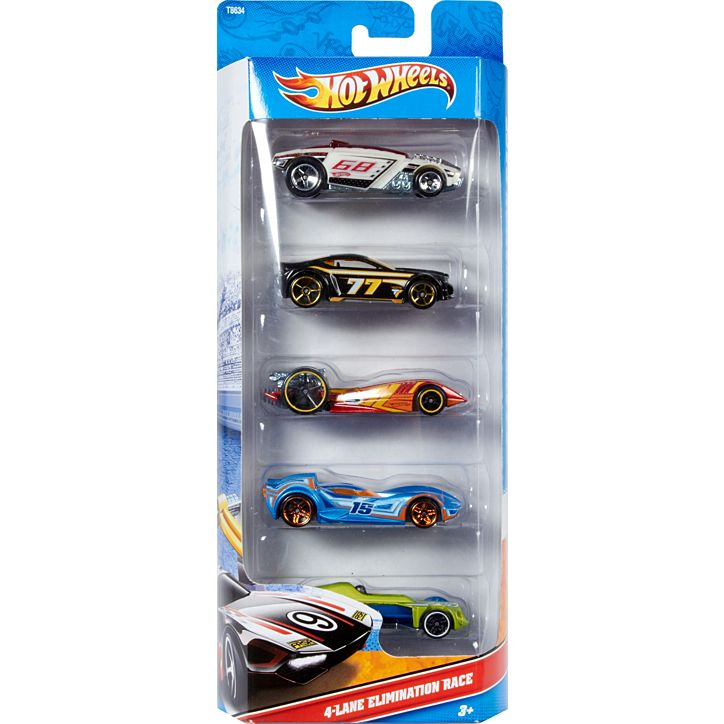 Hot Wheels®5-Car Pack 1806
