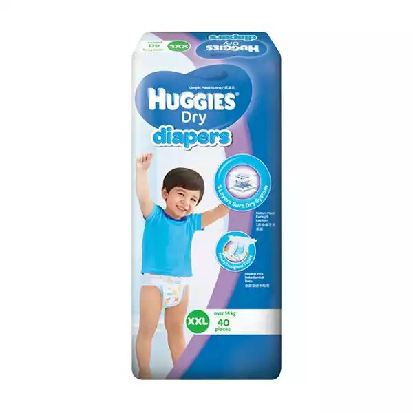 Huggies Dry Baby Diaper Belt XXL Over 14kg+