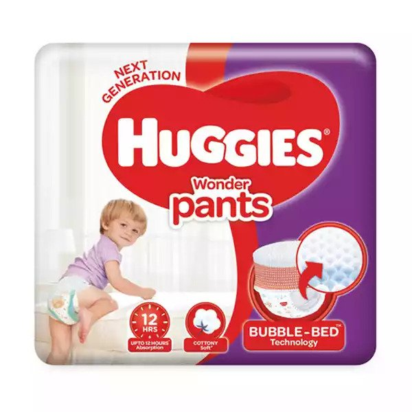 Huggies Baby Diaper WonderPants Pant XL 12-17 kg