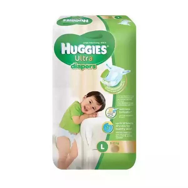 Huggies Baby Diaper Ultra Belt L 8-13 kg
