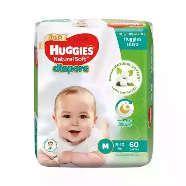 Huggies Baby Diaper Ultra Belt M 5-10 kg