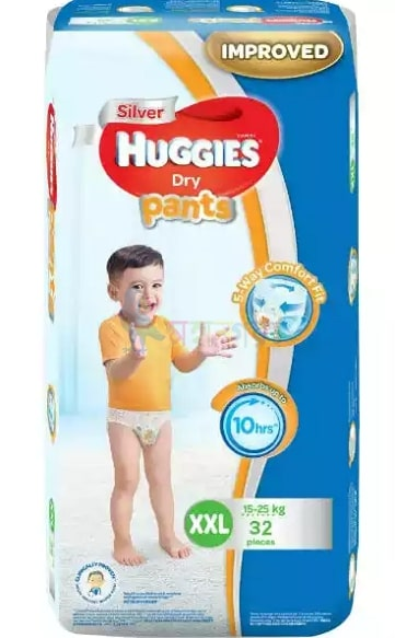Huggies Dry Pants Baby Diaper XXL 15-25 kg