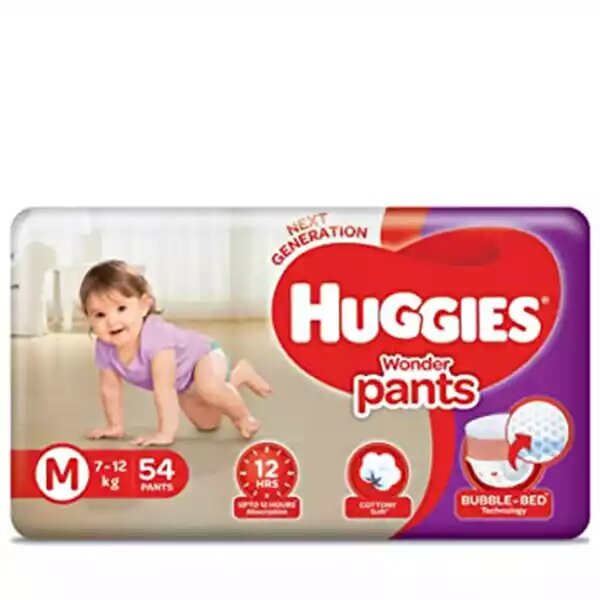 Huggies Baby Diaper WonderPants Pant M 7-12 kg