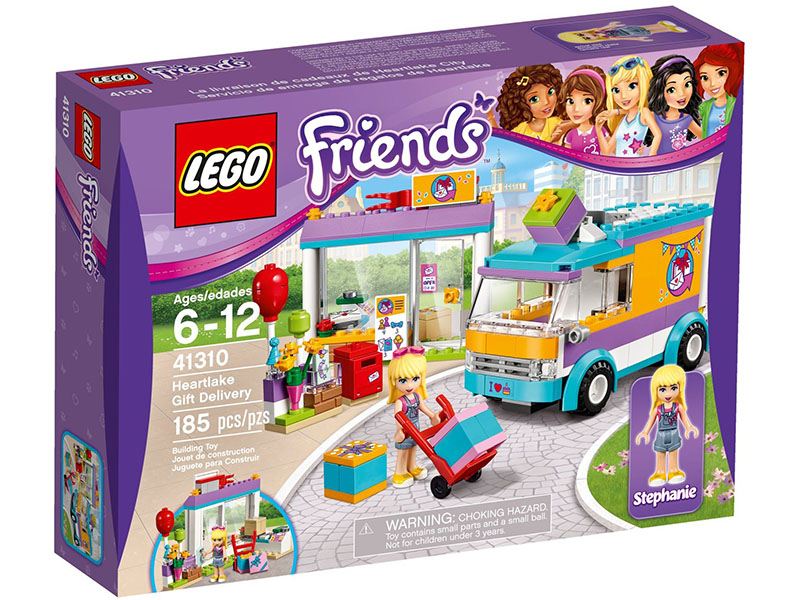 LEGO  Heart-lake Gift Deliver 41310