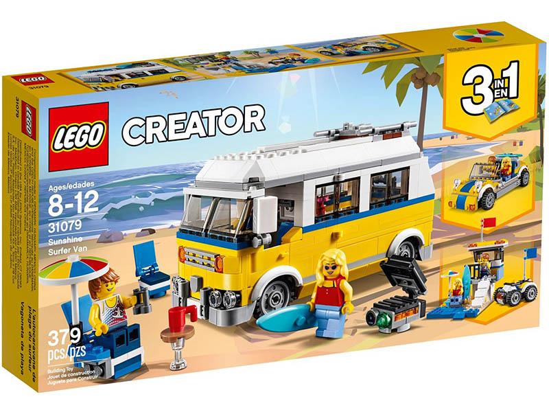 LEGO  Sunshine Surfer Van V29 31079