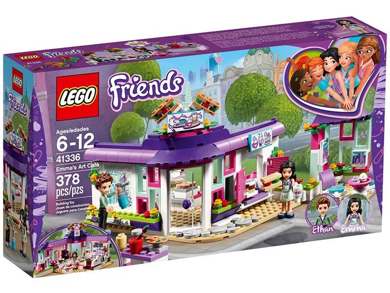 LEGO Emma's Art Cafe 41336