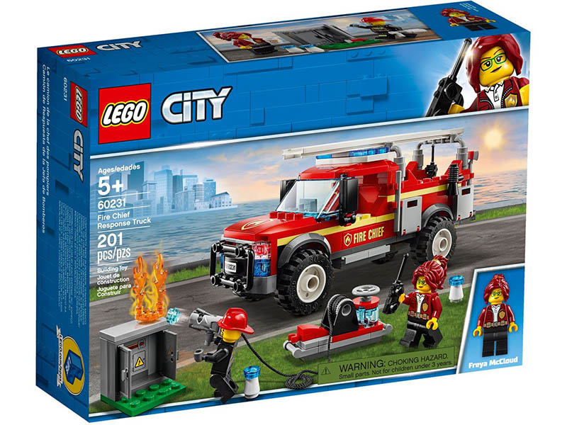 LEGO Fire Chief Response 60231