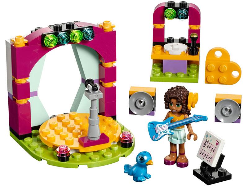 LEGO  Andrea's Musical Duet 41309