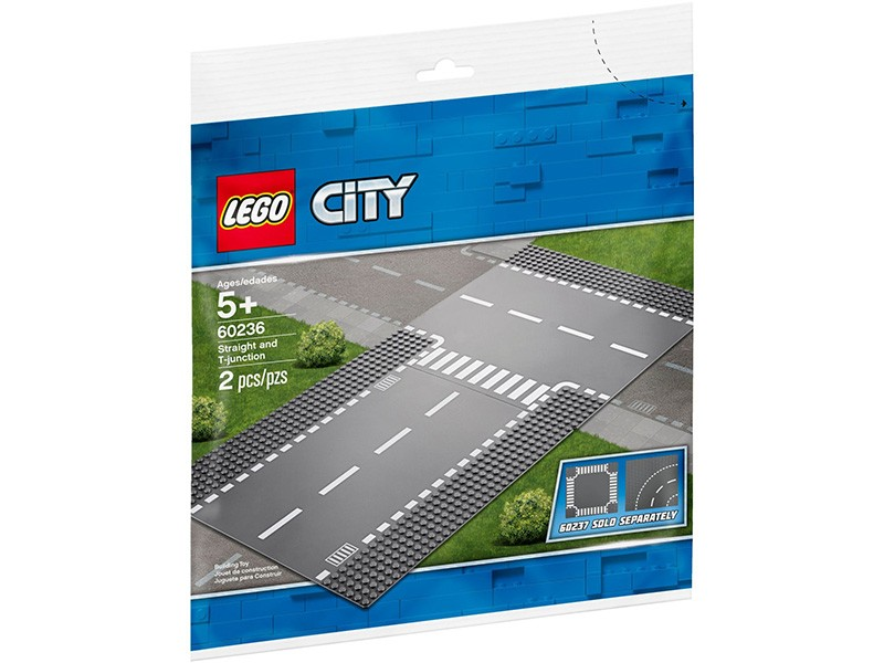 LEGO Straight and T-City 60236