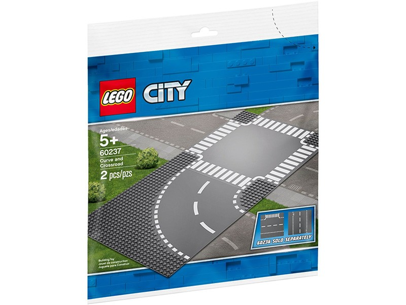 LEGO Curve and Crossroad 60237