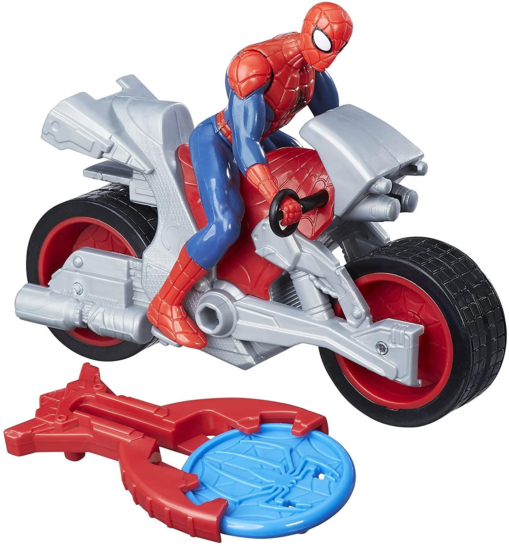 Hasbro B9705 Marvel Spiderman Blast And Go