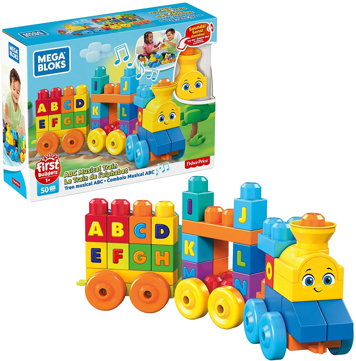 Mega Bloks FWK22 ABC Musical Train