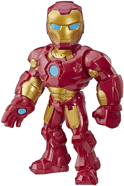 Playskool E4150 Heroes Marvel Super Hero Adventures Mega Mighties Iron Man Collectible 10-Inch Action Figure