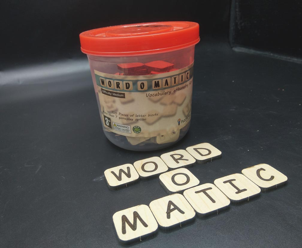 Puzzle Fun Word O Matic
