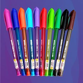 Delta Colour Ink Pen Set (10pcs)