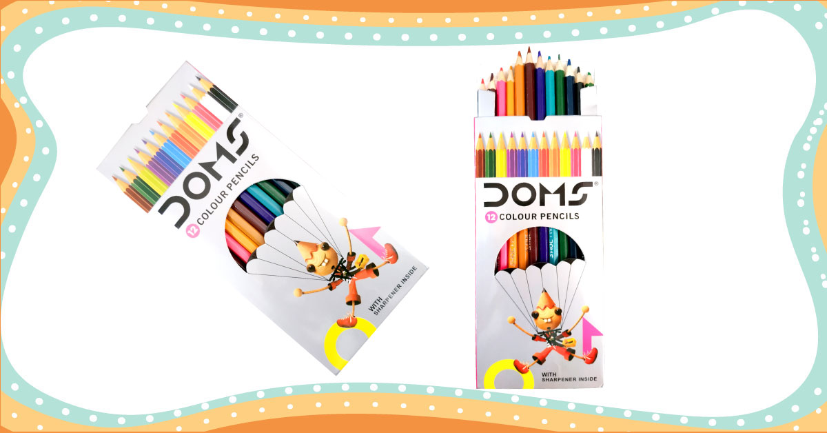 Doms Colour pencil (12pcs)