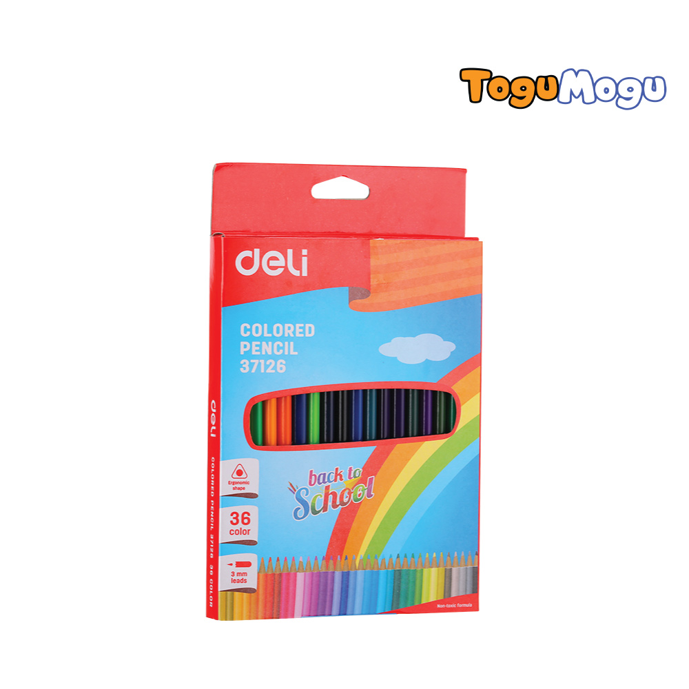 COLORED PENCIL DELI E37126