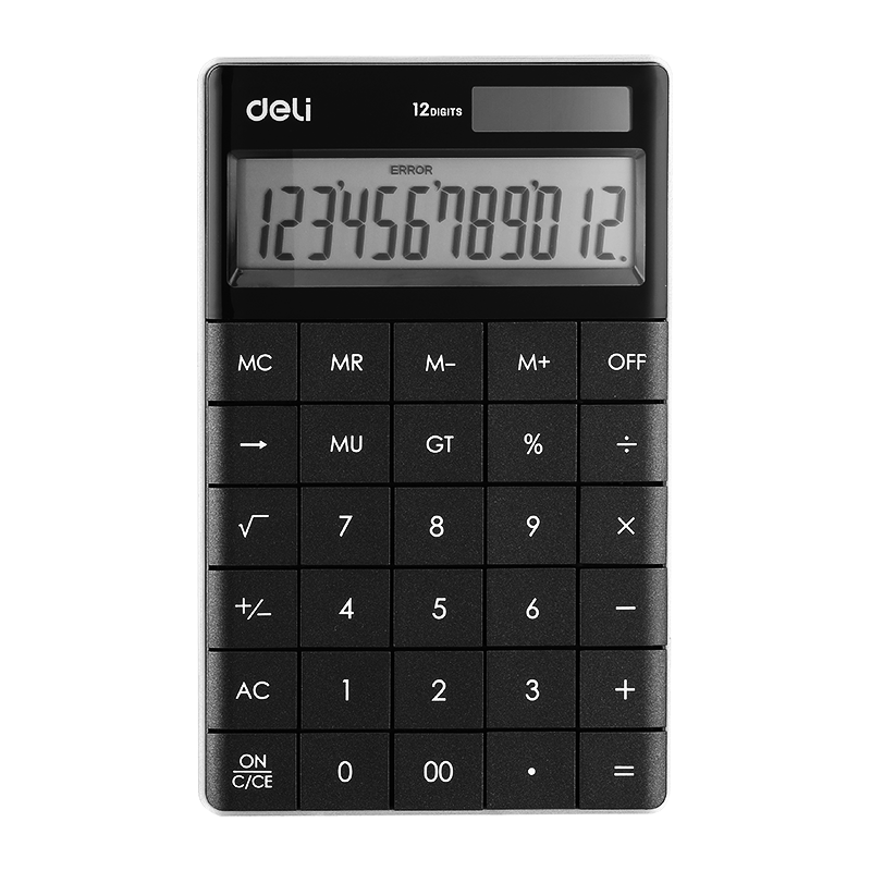 CALCULATOR 12-DIGIT DELI EW1589B