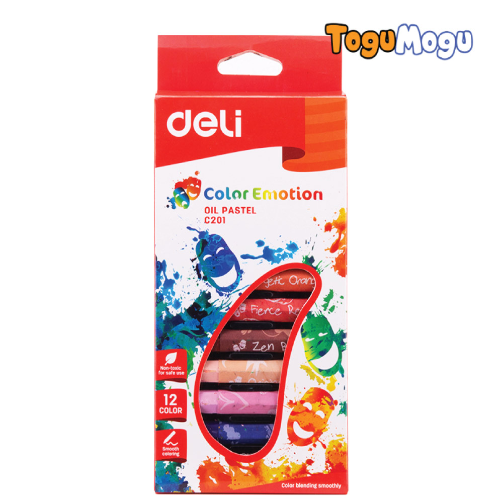 OIL PASTEL SMOOTH RICH BLENDING DELI EC20100