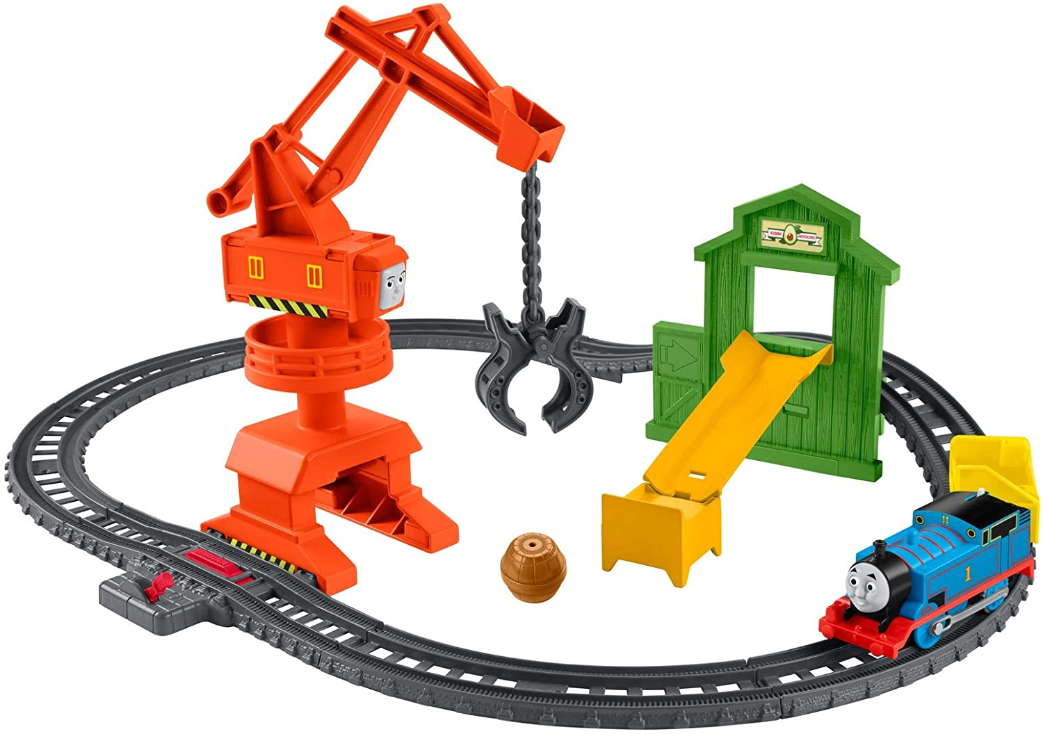 Thomas & Friends GHK83 Cassia Crane & Cargo Set