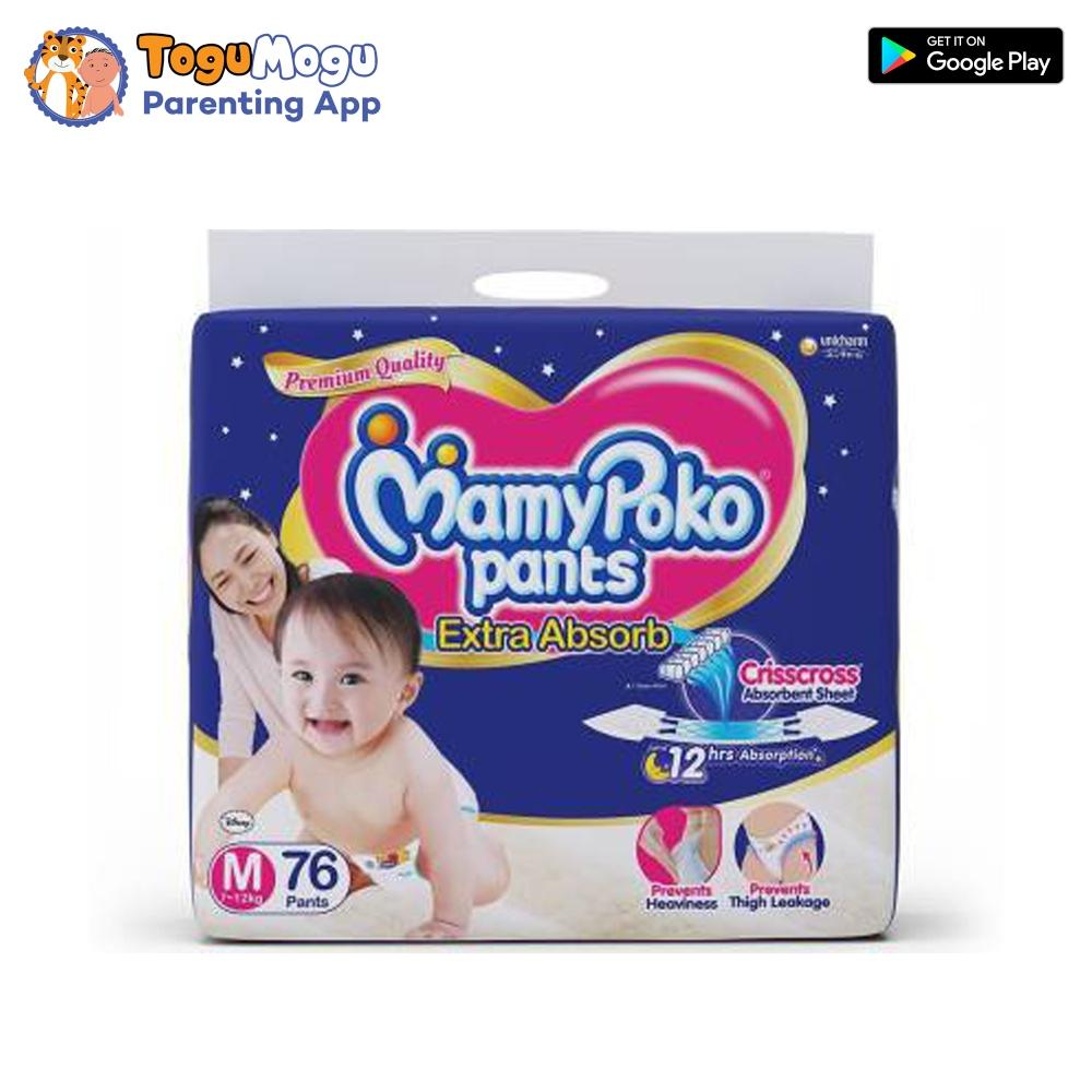MamyPoko Pants M-76 Pcs(7-12kg)
