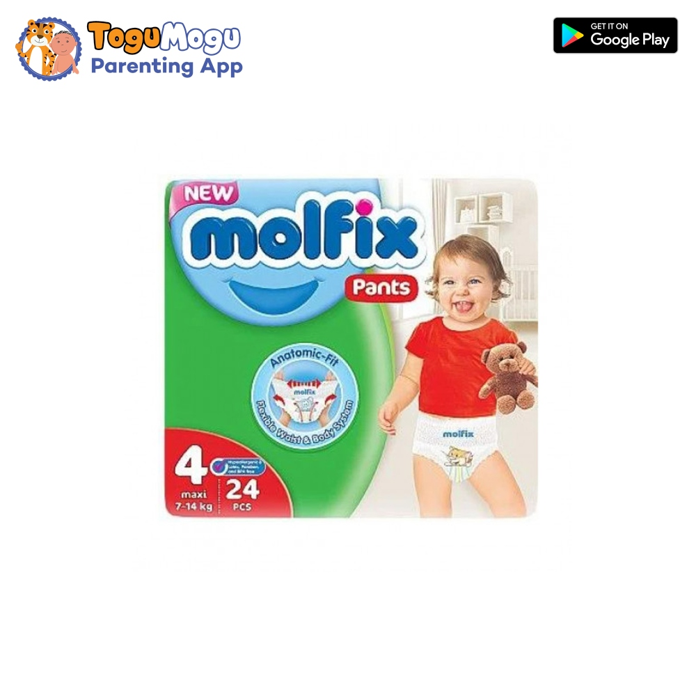 MOLFIX Pants Diaper TWIN Large 7-14kg 24 pcs