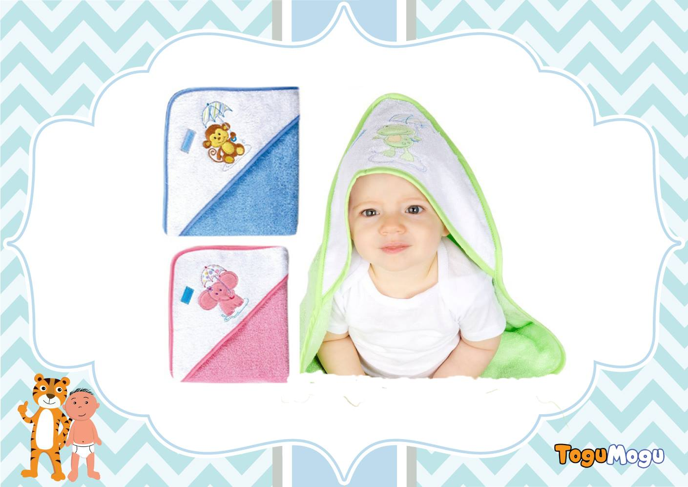 Cap Towel for Newborns