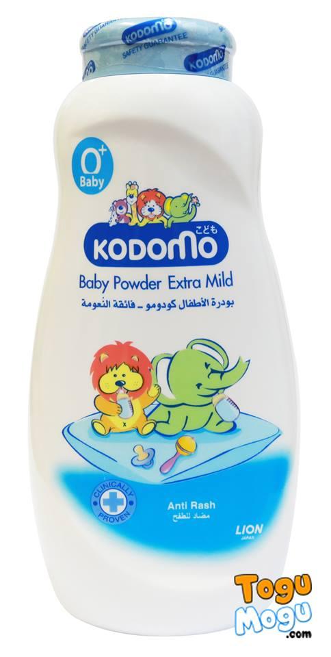 Kodomo Baby Powder Extra Mild, 400g
